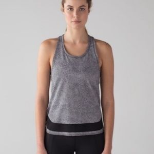 Lululemon Athletica Smooth Stride mesh tank 6